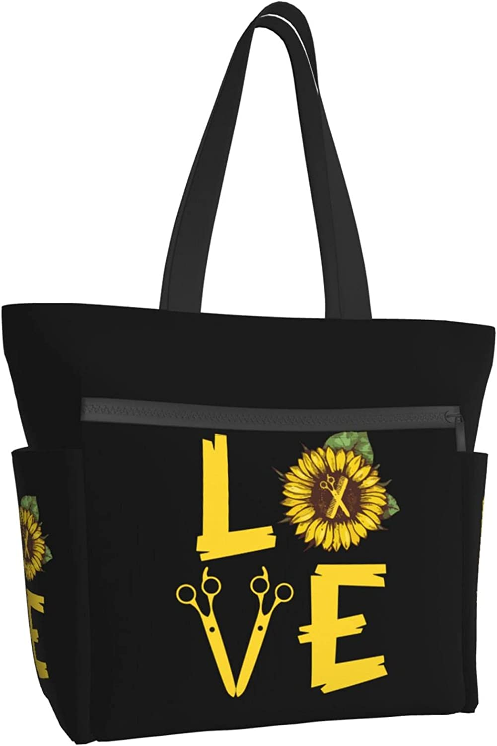 Women Tote Bag Aesthetic Selling Hairstylist Inventory cleanup selling sale Sunflower Love Han Shoulder