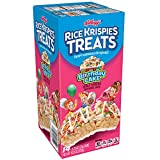Kellogg's Rice Krispies Treats, Crispy Marshmallow Squares, Birthday Cake, 0.78 oz 14 ct,(Pack of 6)