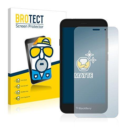 BROTECT 2X Entspiegelungs-Schutzfolie kompatibel mit BlackBerry Aurora Bildschirmschutz-Folie Matt, Anti-Reflex, Anti-Fingerprint