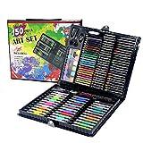 Penna a base d'acqua, 150 pezzi, colori per bambini, matite e disegni, kit per pittura artistica, pennarello per pittura, pennello da disegno, pennarelli permanenti