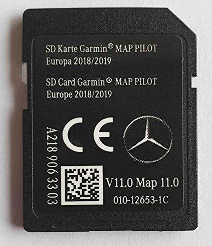 Tarjeta SD Mercedes Garmin Map Pilot STAR1 v11 Europe 2018-2019 - A2189063303