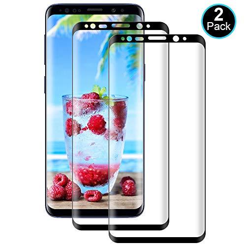 DOSMUNG Panzerglas kompatibel mit Samsung Galaxy S9, [2 Stück] Schutzfolie für Galaxy S9 - Anti-Kratzer, Anti-Öl, Anti-Bläschen, HD Displayschutzfolie für Galaxy S9