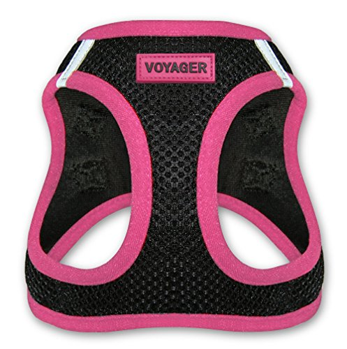 Voyager Step-in Air Dog Harness - All Weather Mesh, Step in Vest Harness for XS (Chest: 13 - 14.5