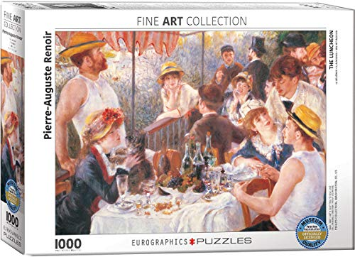 Eurographics 02031 Renoir La Colazione dei canottieri, Puzzle, 1000 Pezzi