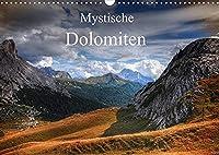 Mystische Dolomiten (Wandkalender 2022 DIN A3 quer): Traumreise in die mystische Welt der zauberhaften Dolomiten. (Monatskalender, 14 Seiten )