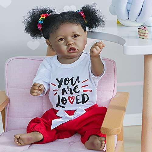 22inch 55cm Reborn Baby Dolls Toddler Realistic Full Silicone Vinyl Newborn Baby Doll Hand Detailed Anatomically Correct -  RBB Dolls, 22NPK2004-005
