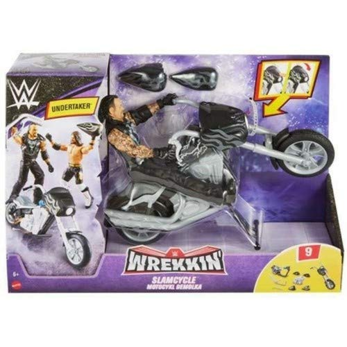 Wrekkin Slamcycle | WWE Playset With Undertaker Action Figure