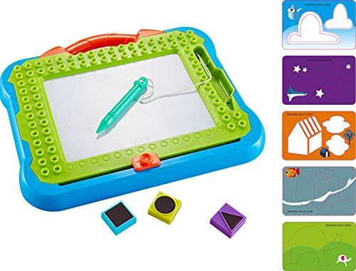 Think Gizmos Lavagna Magnetica e Tavoletta Grafica per Bambini – Giochi per Bambini e Bambine di 3 4 5 6 7 8 Anni – Lavagnetta Magnetica per Apprendimento – TG810