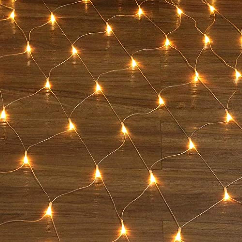 MENHXIANGHUILichterkette Verkauf Garten Lichterkette 6  4m Net Light Lights Outdoor wasserdichte Hochzeit Dekoration Fairy Light (Emitting Farbe   Warm Weiß-6MX4M)