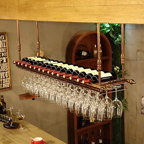 FGDSA Estante para Vino Colgante Portavasos de Vino Tinto Co