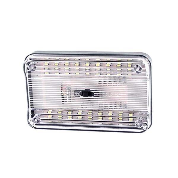 ZHIXX-MALL-Auto-Innenbeleuchtung-LED-Atmosphre-LichtAuto-Leselicht12V-Auto-Deckenleuchte-Dach-LichterWei