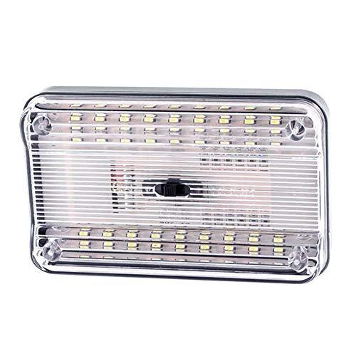 ZHIXX MALL Auto Innenbeleuchtung LED Atmosphäre Licht,Auto Leselicht,12V Auto Deckenleuchte Dach Lichter,Weiß