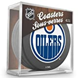 Sher-Wood Edmonton Oilers NHL Eishockey Puck Untersetzer (4er Set) -
