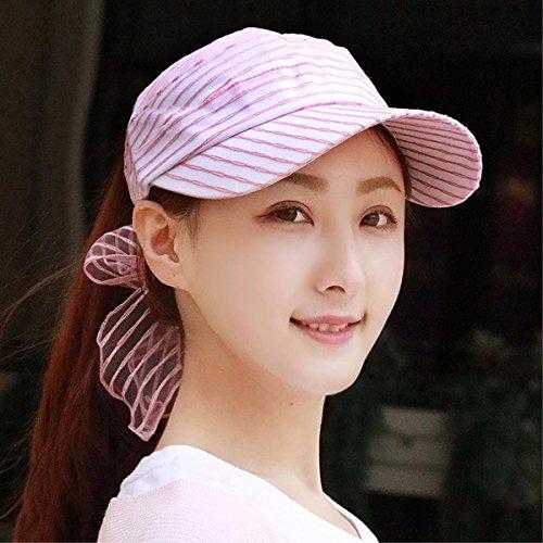 SAIBANGZI Hat Mujer Sin Aliento Chiffon Top Hat Sun Casco Ciclismo Hat...