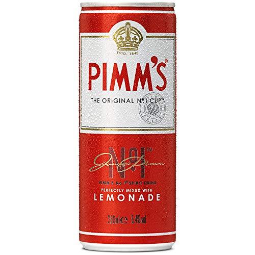 Pimms No.1 und Limonade - Premix Cans - 12 x 250ml