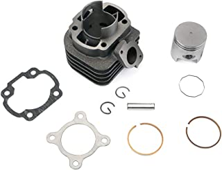 47mm Cylinder Piston Big Bore Kit For Yamaha Jog 50cc 1E40QMB Apirilia Vino For Polaris JOG CV For Minarelli horizontal Engine