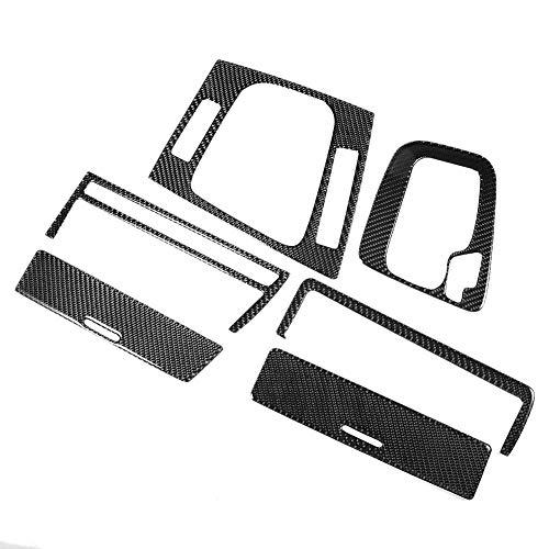 Outbit Trim del Cambio - Telaio del Rivestimento del Pannello del Cambio in Vera Fibra di Carbonio Compatibile con BMW Serie 3 E46 M3 1998-2005
