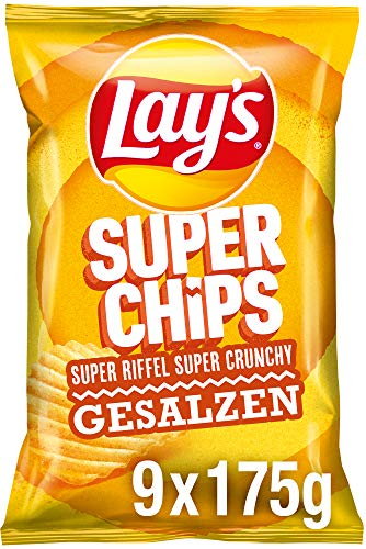 Lays Superchips Gesalzen 10x175g