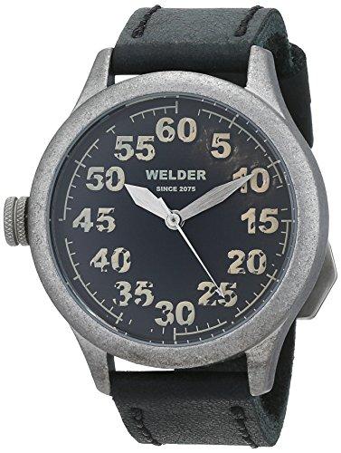 Welder K20-504 orologio al quarzo da uomo, quadrante nero, display...