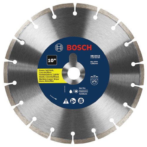 BOSCH DB1041S 10-Inch Segmented Rim Diamond Blade