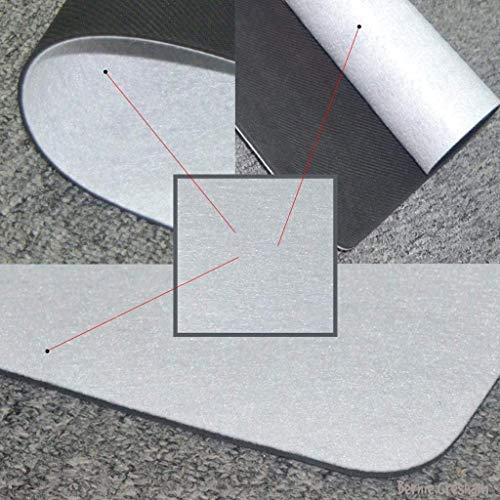 LHM Felpudo de goma antideslizante para puerta de exterior y interior, para inauguración de la casa, 40 x 60 cm