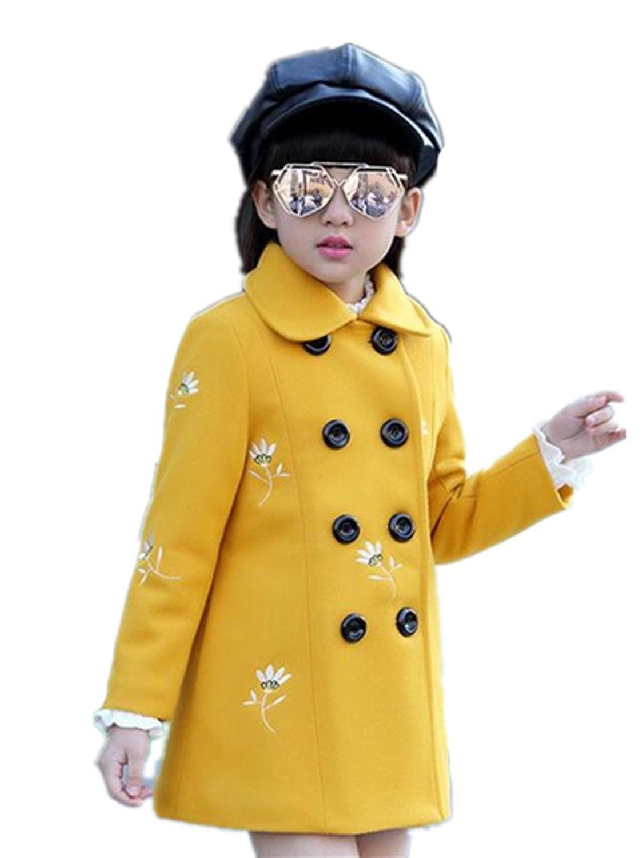 (リアルスタイル) Real Style 子供服 女の子 アウター ピーコート ボタン フルジップ ダッフルコート フリース 女児 キッズ 可愛い あったか オシャレ
