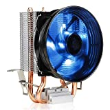 Antec CPU Cooler, Blue LED Fan 92mm, for Intel LGA 775/1150/1151/1155/1156 & AMD Socket FM1/AM3/AM3+/AM2+/AM2/AM4, A30