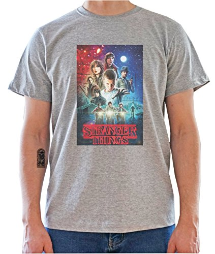 DreamGirl Stranger Things Inspired - Characters Poster Mens