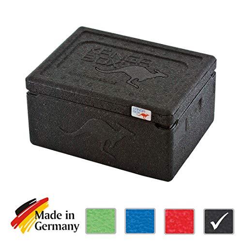 KÄNGABOX® Expert Mini – Unsere Kleinste. 1,5 Liter EPP Isolierbox (schwarz)