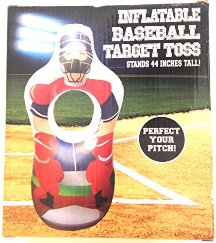Five Below Inflatable Baseball Target Toss 44 Inches Tall