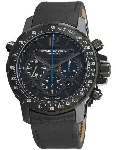 Raymond Weil 7810-BSF-05207 - Reloj para Hombres, Correa de Cuero Color Negro