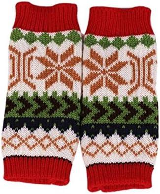 Fashion Knitted Arm Fingerless Winter Gloves Unisex Soft Warm Mitten Hand Gloves guantes eldiven handschoenen 40FE18 - (Color: E, Gloves Size: One Size)