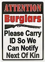 ブリキの看板壁の装飾金属ポスターレトロプラーク警告サインオフィスカフェクラブバーの工芸品