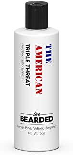 Sponsored Ad - Live Bearded: Beard Wash - American - Beard and Face Wash - 8 fl. oz. - Water-Based Formula with All-Natura...