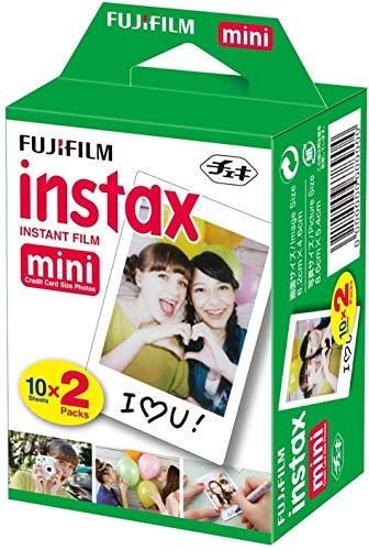 Fujifilm Instax Mini Film–5x 20carretes–100Fotos