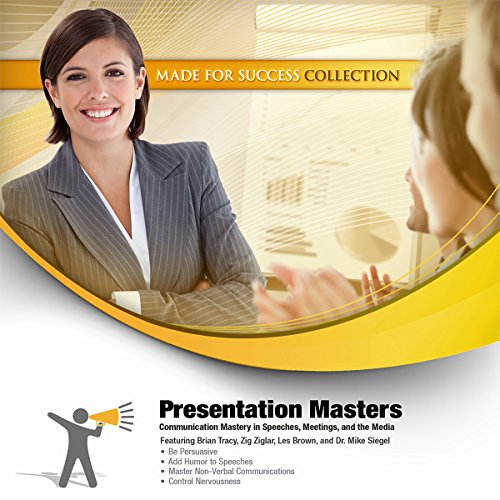 Presentation Masters audiobook cover art