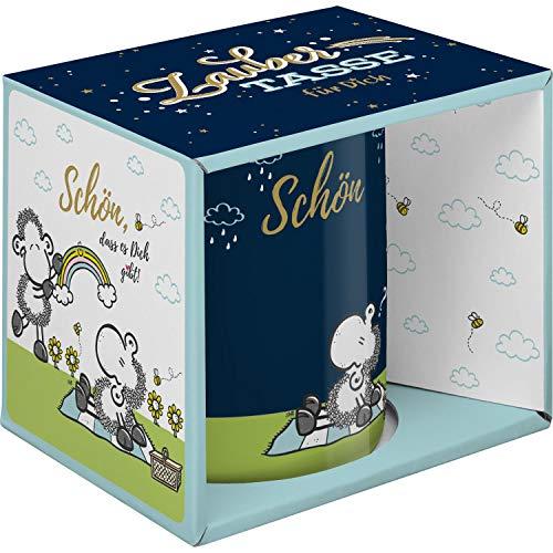 Sheepworld 47058 Zaubertasse, Farbwechseltasse Schön, Porzellan, 35 cl, Geschenkbox