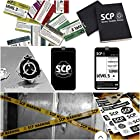 品SCP《財団職員カード+ステッカー+ピンバッジ+ノート+立入封鎖テープ+職員証ストラップ》グッズ詰め合わせ SCP財団