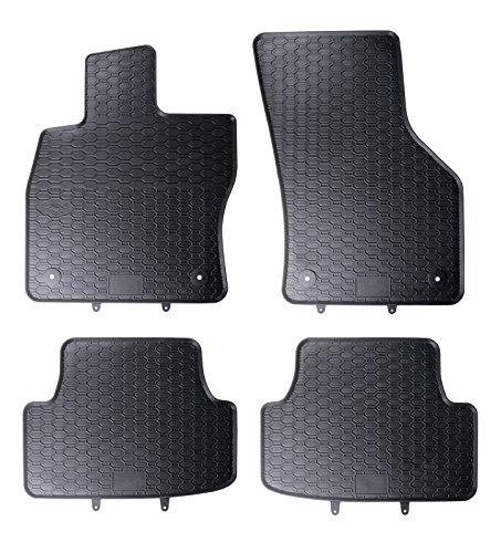 DAPA Prime Gummimatten für Golf 7 Pkw Auto Matten Gummifußmatten Fahrzeugmatten Gummi Fußmatten