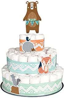 Baby Shower 'We Can Bear-ly Wait' Diaper Cake Kit (8pc)