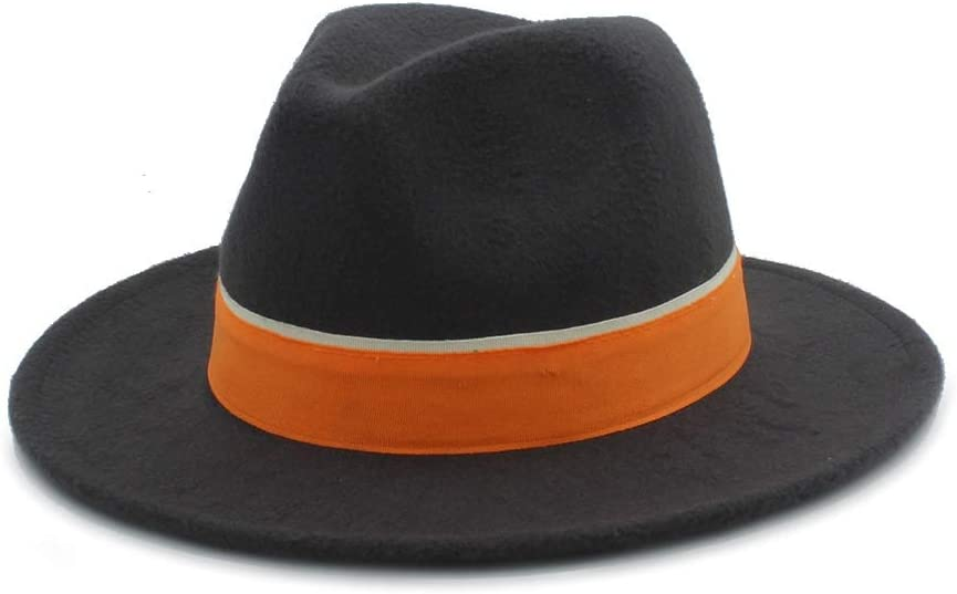 No-branded Fedora Cash special price Hat Men Women Winter with Cl Orange Charlotte Mall