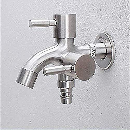 Wasserhahn Wasserhahn Edelstahl Wasserhahn verlängert einen Punkt zwei außerhalb multifunktionale Waschmaschine Doppelhahn