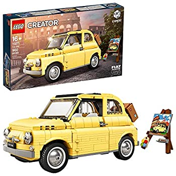 LEGO Creator Expert Fiat 500 10271 Toy Car Building Set for Adults and Fans of Model Kits Sets Idea  960 Pieces