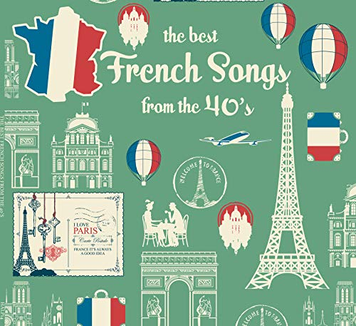 The best French Songs from the 40\'s Vinyle - Édith Piaf, Charles Trenet, Juliette Gréco