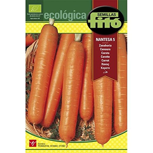 Semillas Fitó Zanahoria Nantesa 5 Ecológica