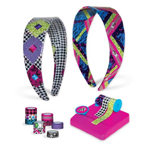 Price comparison product image Fashion Angels Tapeffiti Headband Kit