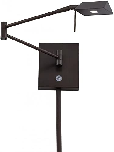 popular George Kovacs P4318-647 One Light online Led new arrival Swing Arm Wall Lamp sale