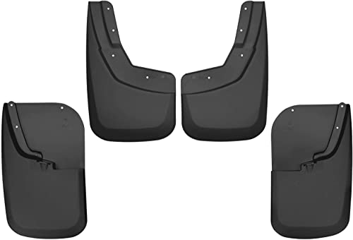 Husky Liners - 56686 Fits 2011-16 Ford F-250/F-350 without OEM Fender Flares - SINGLE REAR WHEELS Custom Front and Re...