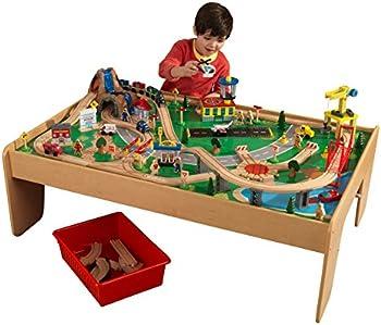 KidKraft Waterfall Mountain Train Set & Table