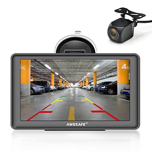 GPS Voiture Auto Europe 7 Pouces Système de...
